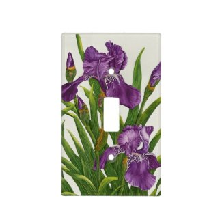 Two Irises - Light Switch Cover