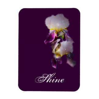 Two Irises Magnet