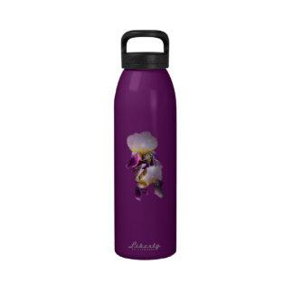 Two Irises Water Bottle