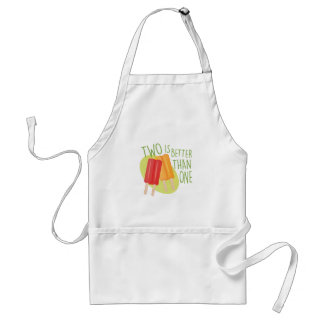 Two Is Better Adult Apron