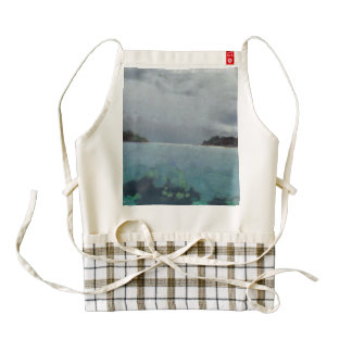 Two islands or one zazzle HEART apron