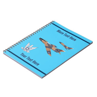 Two Israeli Super Mystères Notebook