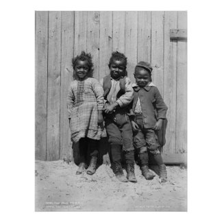 Two Jacks and a Jill African American Children Poster