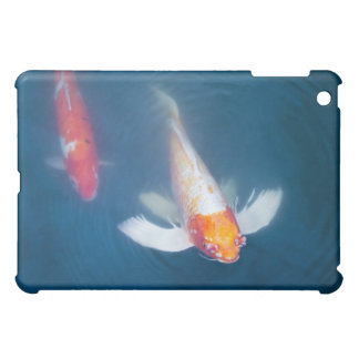 Two Japanese koi fish in pond iPad Mini Cases