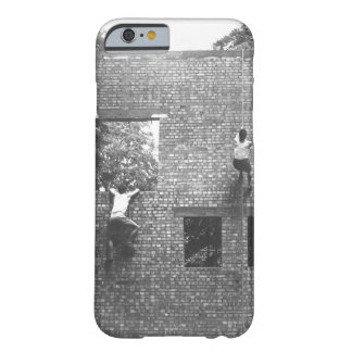 Two Jeds scale brick wall in_War image Barely There iPhone 6 Case
