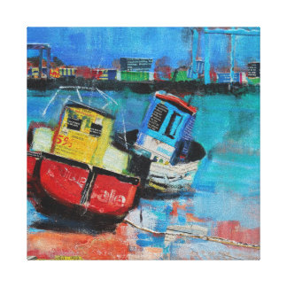Two Jolly Fishing Boats 2012 Canvas Print