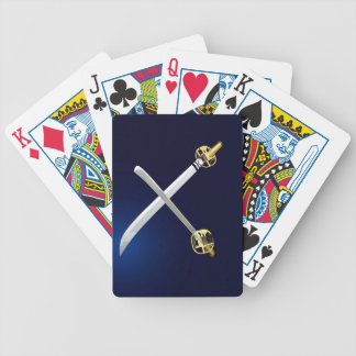 Two Katana's Playing Cards