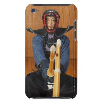 Two Kendo Fencers Sparring iPod Touch Case