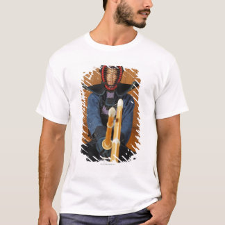 Two Kendo Fencers Sparring T-Shirt