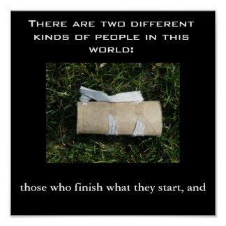 Two kind of people... print