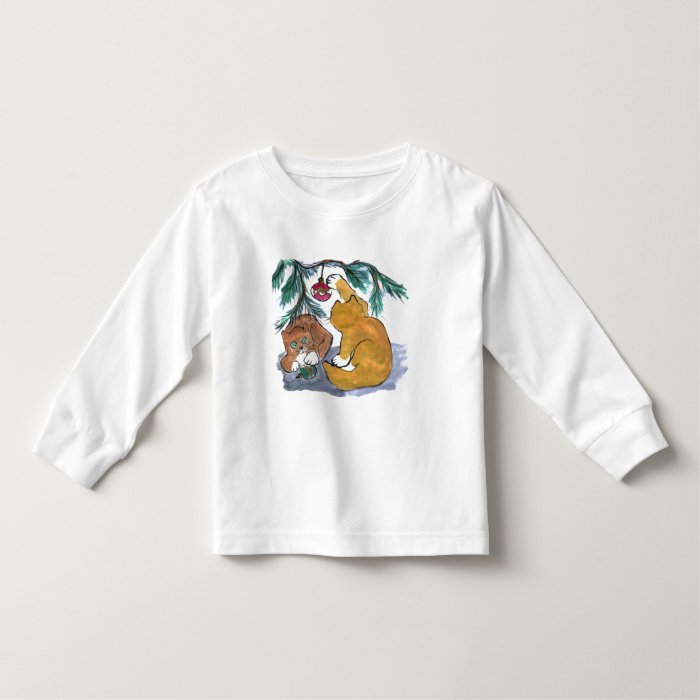 Two Kittens are more Fun Toddler T-shirt
