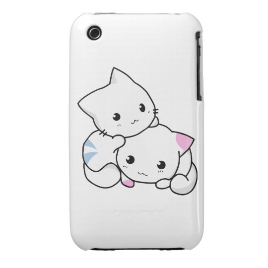 Two Kittens iPhone 3 Case-Mate Case
