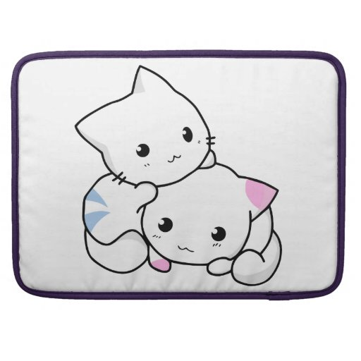 Two Kittens MacBook Pro Sleeve