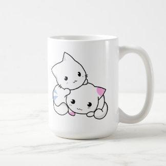 Two Kittens Coffee Mugs