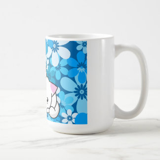 Two Kittens on Blue Background Mugs