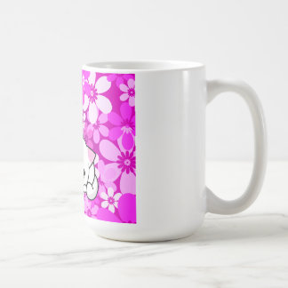 Two Kittens on pink Background Mugs