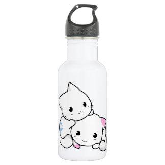 Two Kittens 18oz Water Bottle