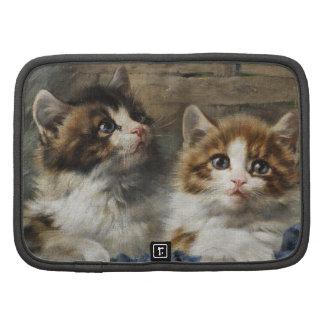 Two kittens planner