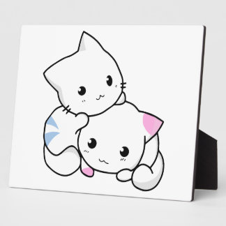 Two Kittens Plaque