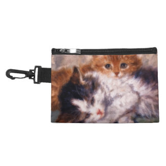 Two Kittens Snuggle by Henriëtte Ronner-Knip Accessory Bag