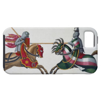Two knights at a tournament, plate from 'A History iPhone SE/5/5s Case