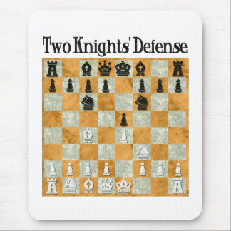Two Knights Defense Mouse Pad