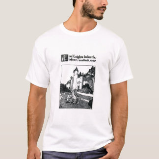 Two Knights do Battle before Cameliard T-Shirt