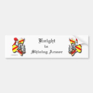 Two Knights in Shining Armor Bumper Sticker