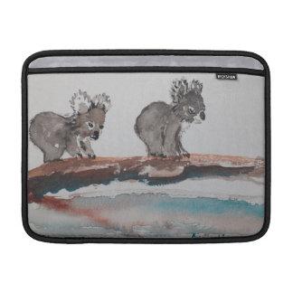 Two Koala Watercolor Art MacBook Air Sleeve