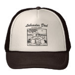 Two Labradors and Dad Trucker Hat