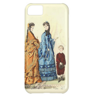 two ladies and a little boy cover for iPhone 5C