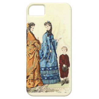 two ladies and a little boy iPhone SE/5/5s case