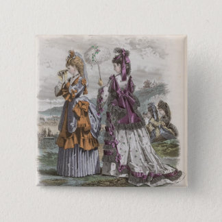 Two Ladies Button