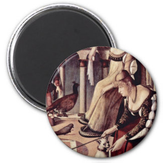 Two Ladies By Carpaccio Vittore Refrigerator Magnets