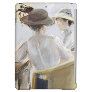 Two Ladies by the Water Cover For iPad Air