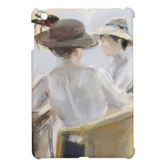 Two Ladies by the Water iPad Mini Cover