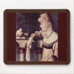 Two Ladies Detail By Carpaccio Vittore Mouse Pad