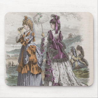 Two Ladies Mouse Pad