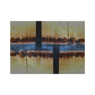 Two Lane Highway Canvas Print