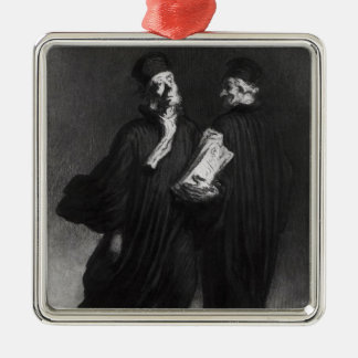 Two Lawyers, c.1862 Ornament