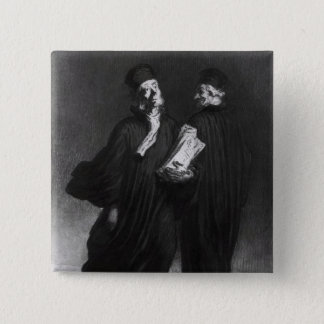 Two Lawyers, c.1862 Pinback Button
