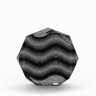 Two layers consisting of curves with identical inc acrylic award