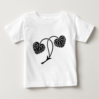 Two-leaf hollyhock baby T-Shirt