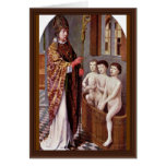 Two Legends Of St. Nicholas By David Gerard Greeting Cards