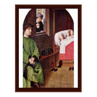 Two Legends Of St. Nicholas Postcard