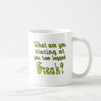 Two Legged Freak Coffee Mug