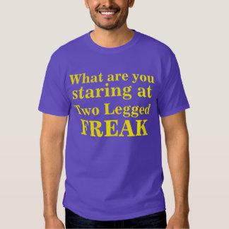 Two Legged Freak Tee Shirts