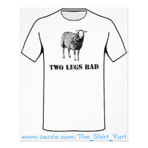 Two Legs Bad Sheep Flyer