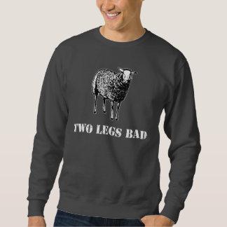 Two Legs Bad Sheep Pull Over Sweatshirt