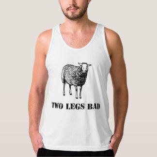 Two Legs Bad Sheep Tank Tops